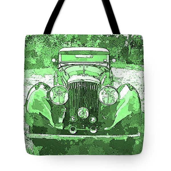 Bentley Green Pop Art Triple Tote Bag