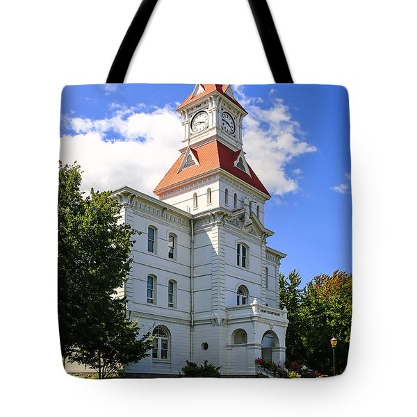 Benton Couty Courthouse Tote Bag