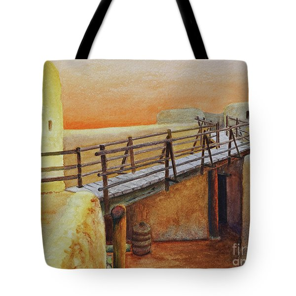 Bent's Old Fort Tote Bag