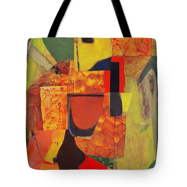 Beret Ballet Tote Bag by Randall Weidner