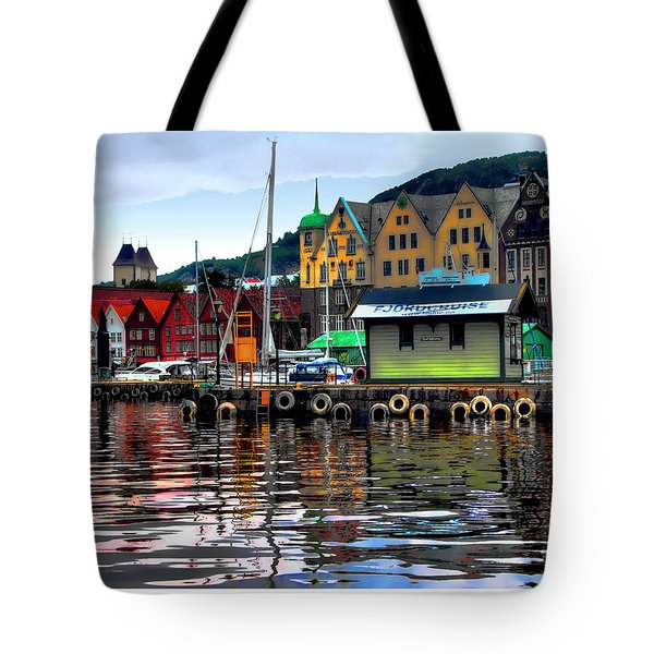 Bergen Colors Tote Bag by Jim Hill