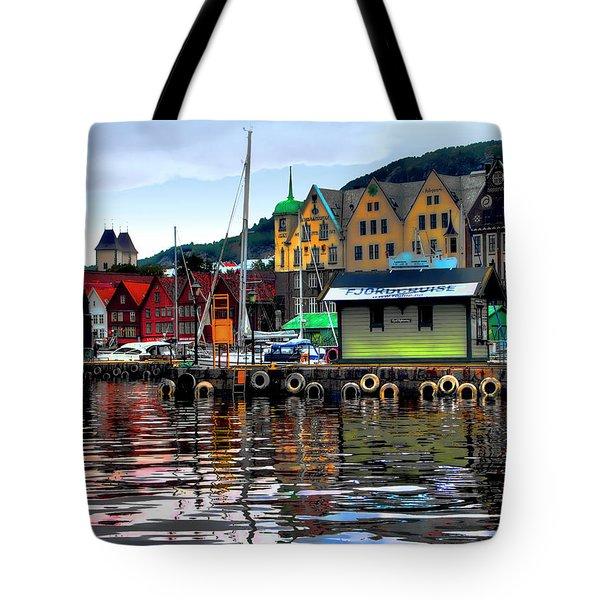 Bergen Colors Tote Bag