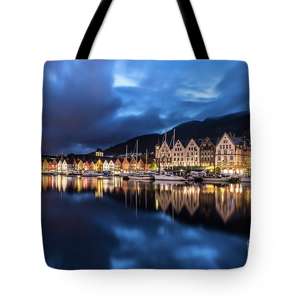 Bergen Harbor Tote Bag
