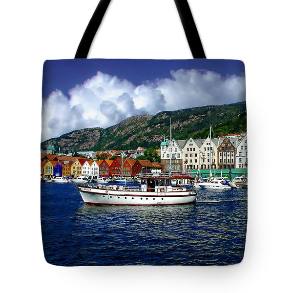 Bergen - Norway Tote Bag