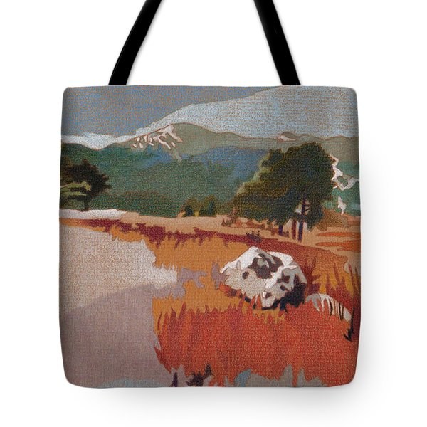 Bergen Peak First Snow Tote Bag
