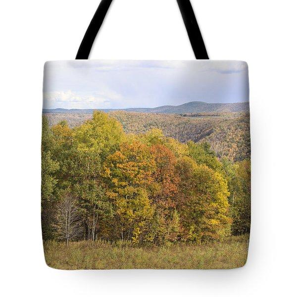Berkshires In Autumn Tote Bag