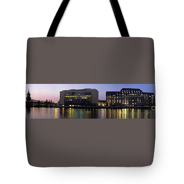 Tote Bag featuring the photograph Berlin 360 Grad  by Juergen Held