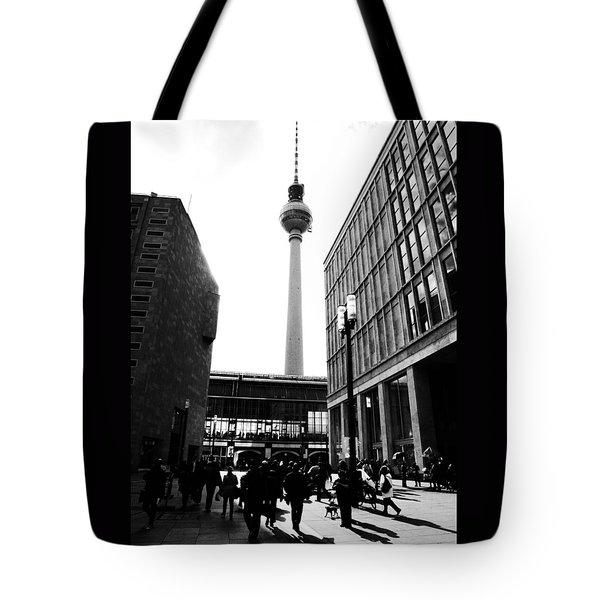 Berlin Street Photography Tote Bag by Falko Follert