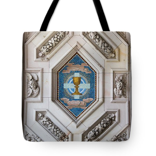 Tote Bag featuring the photograph Berliner Dom Mosaics by Ross Henton