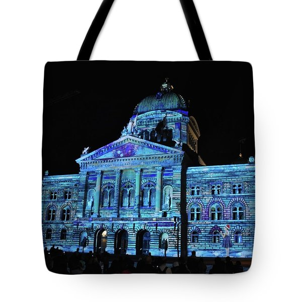 Bern In Blue Tote Bag