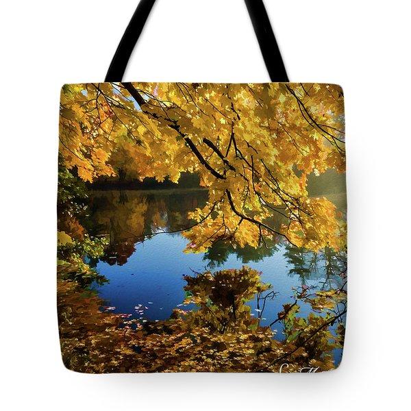 Bernharts Dam 15-244 Tote Bag
