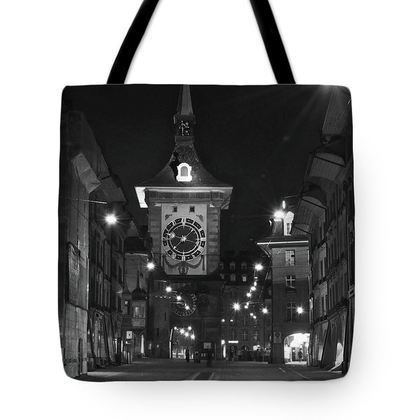 Bern's Clock Tower Tote Bag