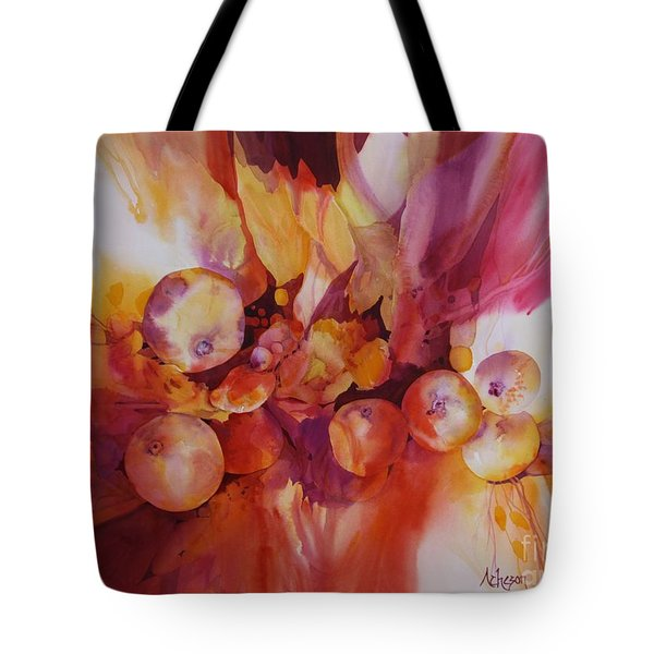 Berries Beautiful Tote Bag by Donna Acheson-Juillet