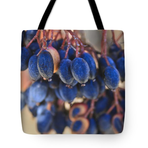 Berries Blue Too Tote Bag