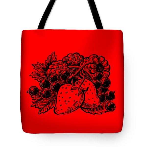 Berries From Forest Tote Bag