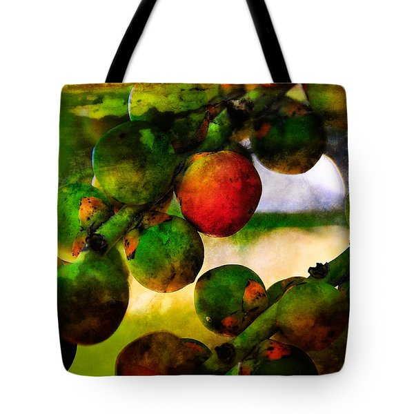 Tote Bag featuring the photograph Berries by Harry Spitz