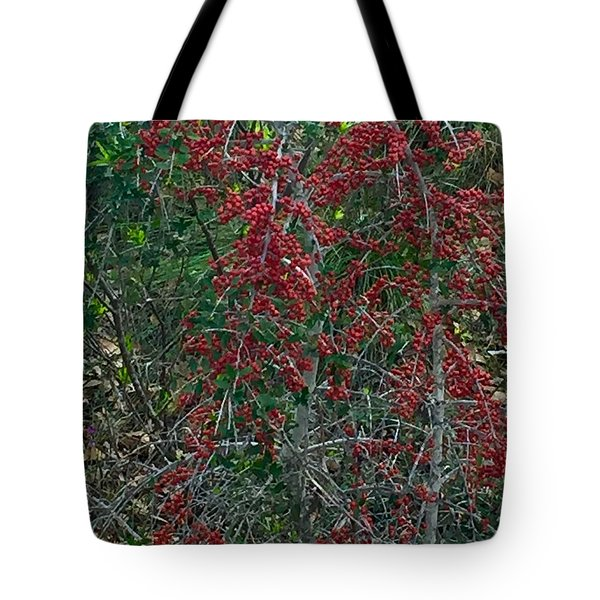 Berries In Styx Tote Bag