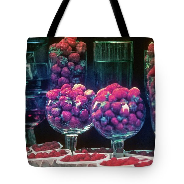 Berries In The Window Tote Bag