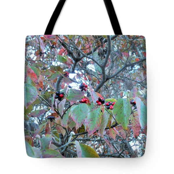 Tote Bag featuring the photograph Berries by Kay Gilley