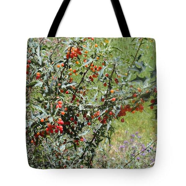 Berries On The Vine Tote Bag