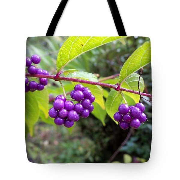 Berries Tote Bag by Rosie Brown