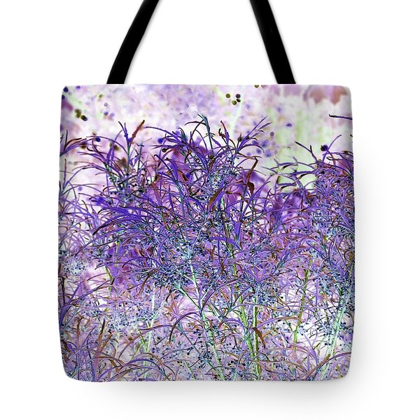Tote Bag featuring the photograph Berry Bush by Ellen Barron O'Reilly