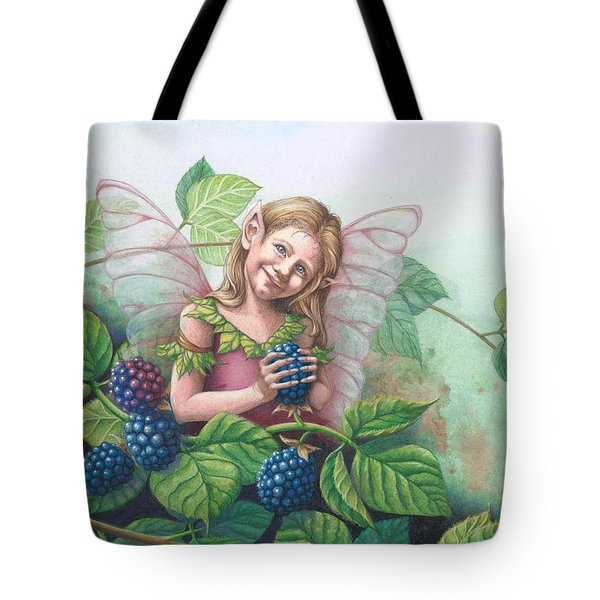 Blackberry Fairie Tote Bag