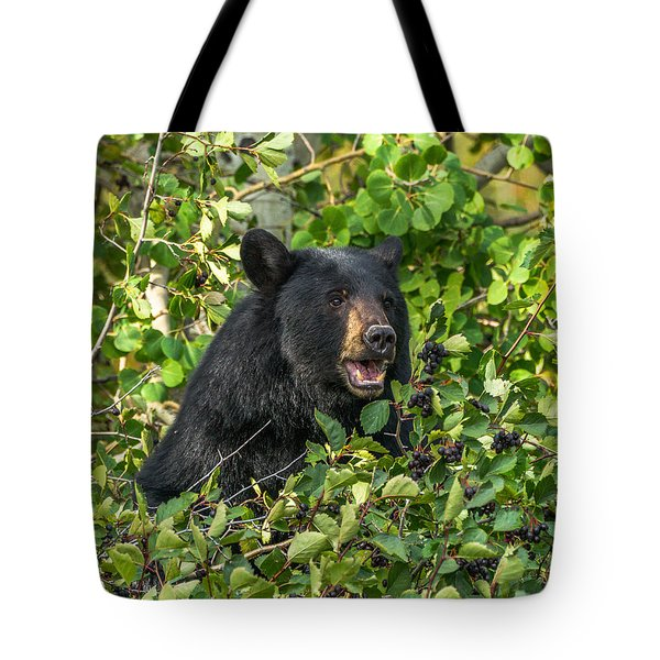 Tote Bag featuring the photograph Berry Good by Yeates Photography