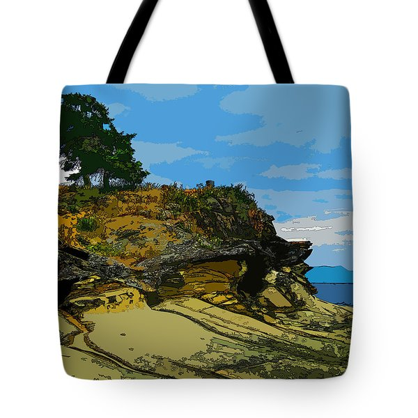 Berry Point Tote Bag
