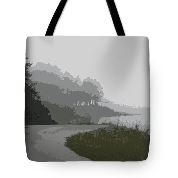 Berry Point In The Fog5 Tote Bag