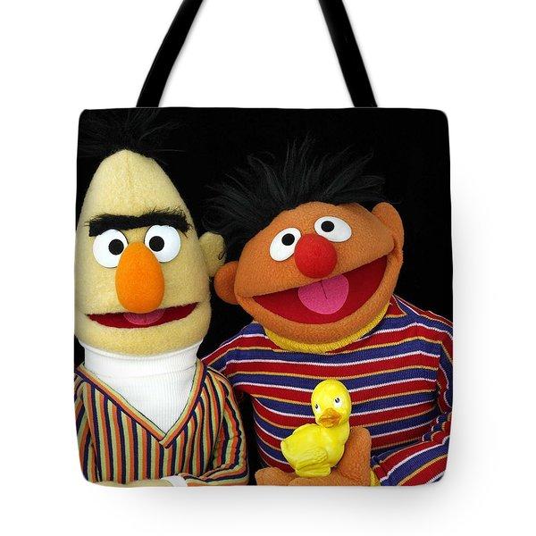 Bert And Ernie Tote Bag
