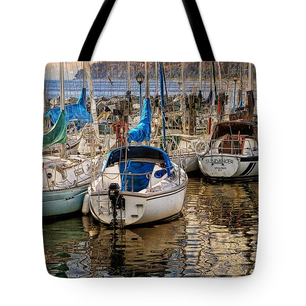 Berthed Tote Bag by Ed Hall