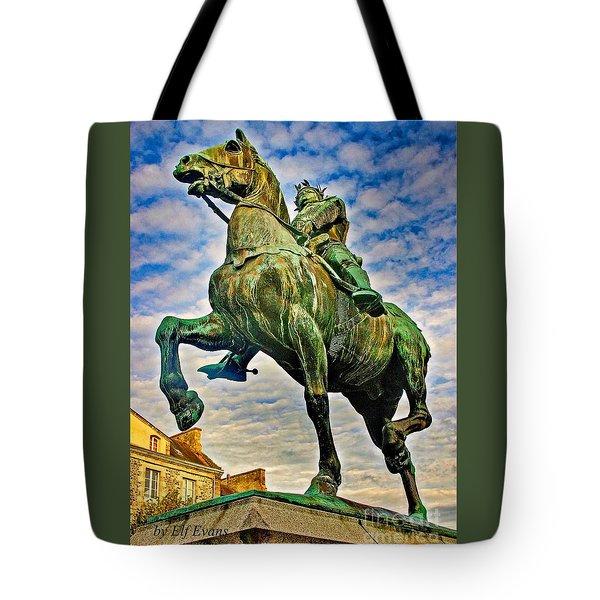 Bertrand Du Guesclin Tote Bag