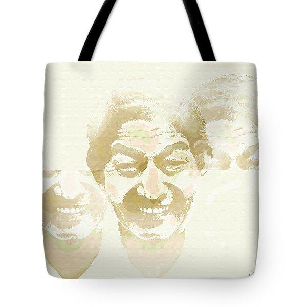 Beside Himself Tote Bag