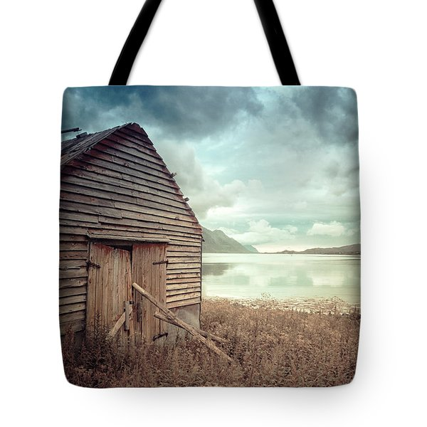 Beside The Lake Tote Bag