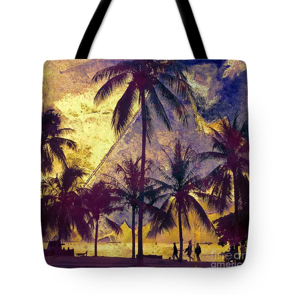 Tote Bag featuring the photograph Beside The Sea by LemonArt Photography