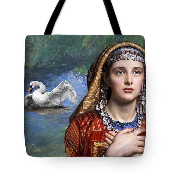 Beside The Swan Tote Bag