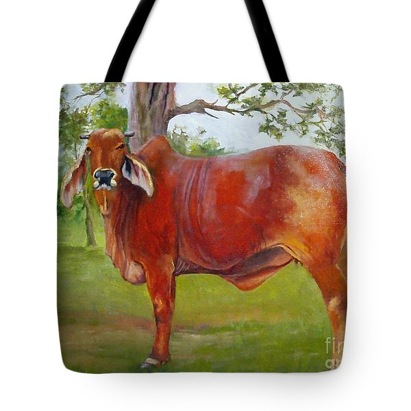 Bessie The Brahama Tote Bag