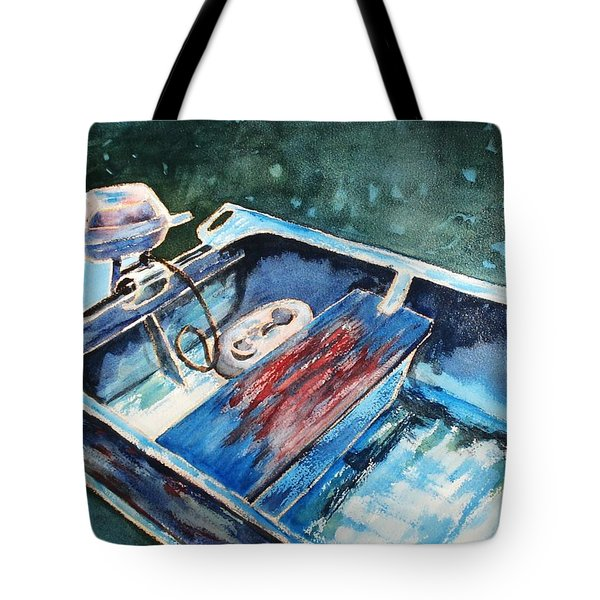 Best Fishing Buddy Tote Bag by Marilyn Jacobson