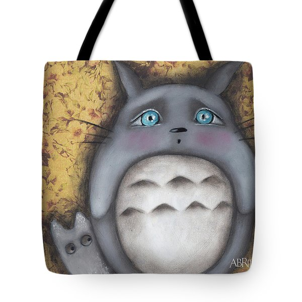 Best Friend Tote Bag by Abril Andrade Griffith