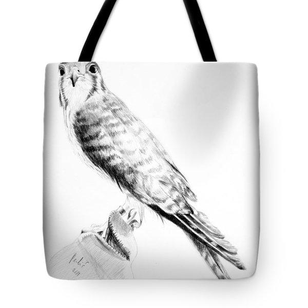 Tote Bag featuring the drawing Best Friend by Eleonora Perlic