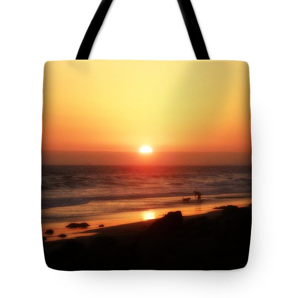 Best Friends At The Beach Tote Bag