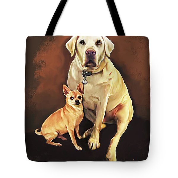 Best Friends By Spano Tote Bag