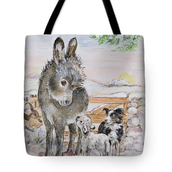 Best Friends Tote Bag by Diane Matthes