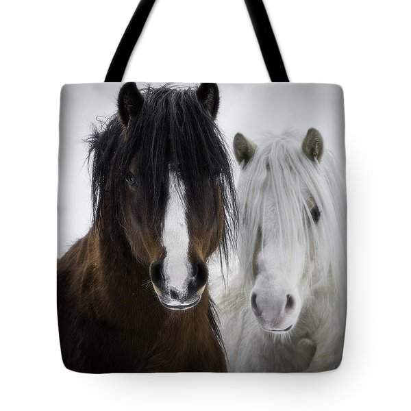 Best Friends II Tote Bag by Everet Regal
