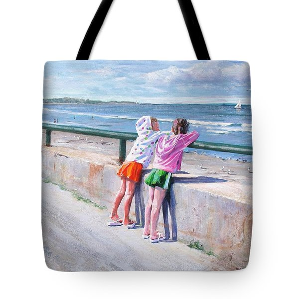 Best Friends Tote Bag by Laura Lee Zanghetti