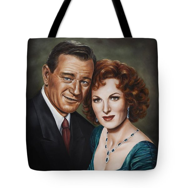 Tote Bag featuring the painting Best Guy I Ever Met by Kim Lockman