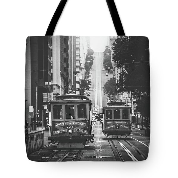 Best Of San Francisco Tote Bag by JR Photography