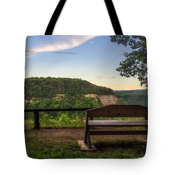 Tote Bag featuring the photograph Best Seat In The House by Mark Papke