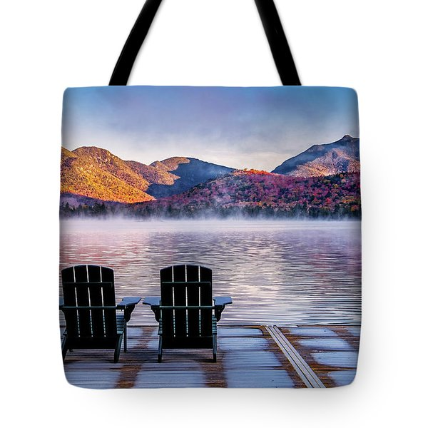 Best Seats In The Adirondacks Tote Bag